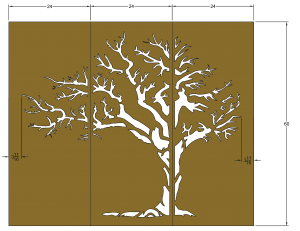 Tree Silhouett Model_2a