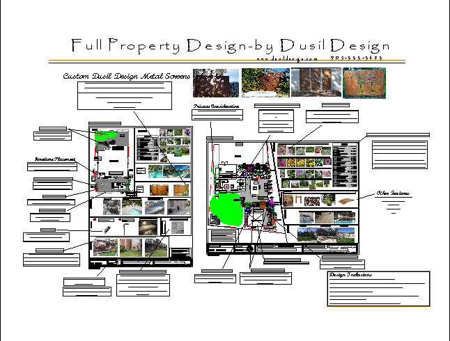 Landscape Design Sample