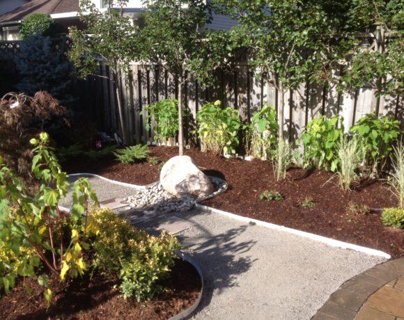 Pathway Through Gardens