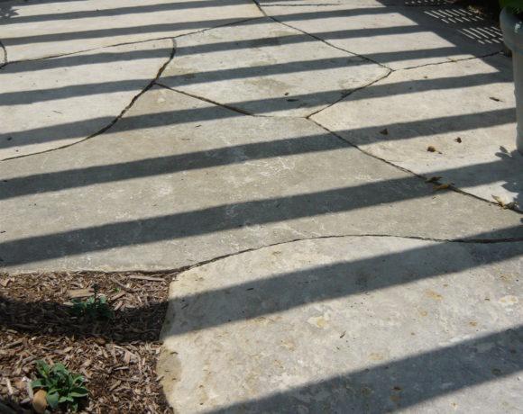 Giant Flagstone Patio