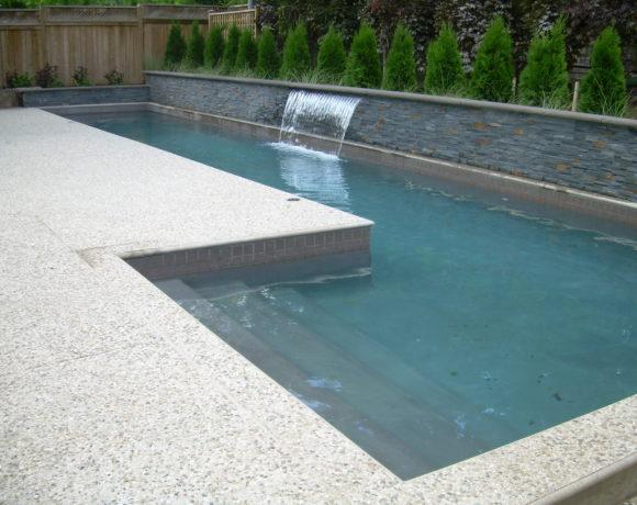 Custom Gunnite Lap Pool in Oakville